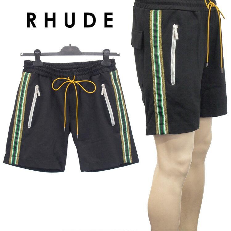 メンズファッション, ズボン・パンツ  RHUDE 02ASR02106-BLACK