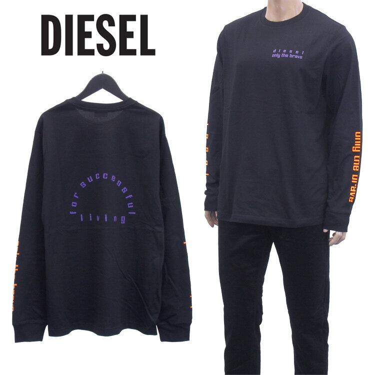 トップス, Tシャツ・カットソー  DIESEL T A01036-0PATIT-JUST-LS-N64-9X XA