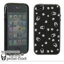 ルシアンペラフィネ iPhone 4 4S LUCIEN PELLAT-FINET ブラック DIA01-BLACK