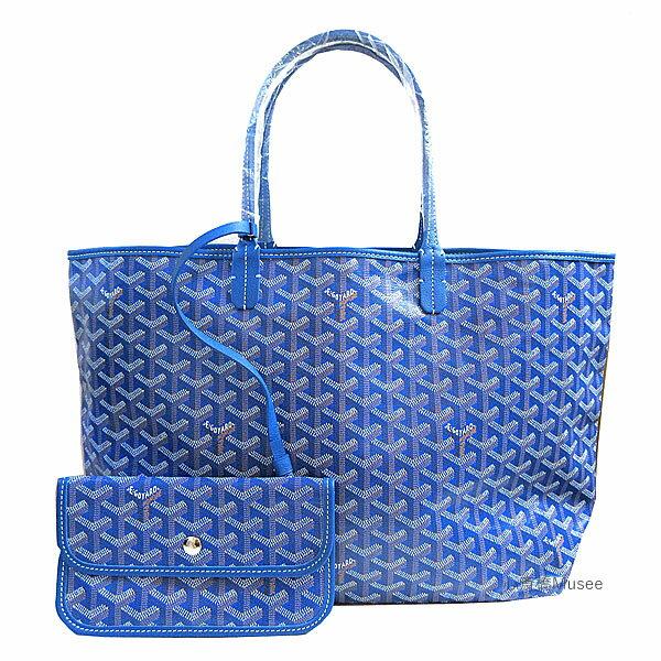 ≪新品≫正規品 GOYARD ゴヤールサンルイ PM ブルー ショッパー リボン ラッピング ST LOUIS Blue