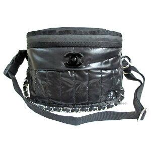 < > CHANEL Chanel Primavera / Verano 2019 Pre-colección Body Back Waist Bag Hombro Negro Negro CC Mark Waist Pouch AS0431 B00166 N0802 94305 Box Ribbon Wrapping