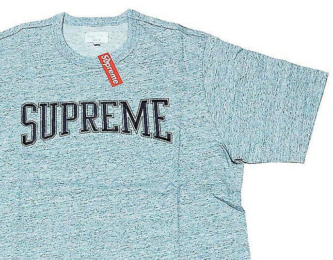 新品≫ 17FW SUPREME Dotted Arc Top GREY Mサイズ シュプリーム Tシャツ 新品 正規品 Supreme Tシャツ M サイズ 896a2524df9