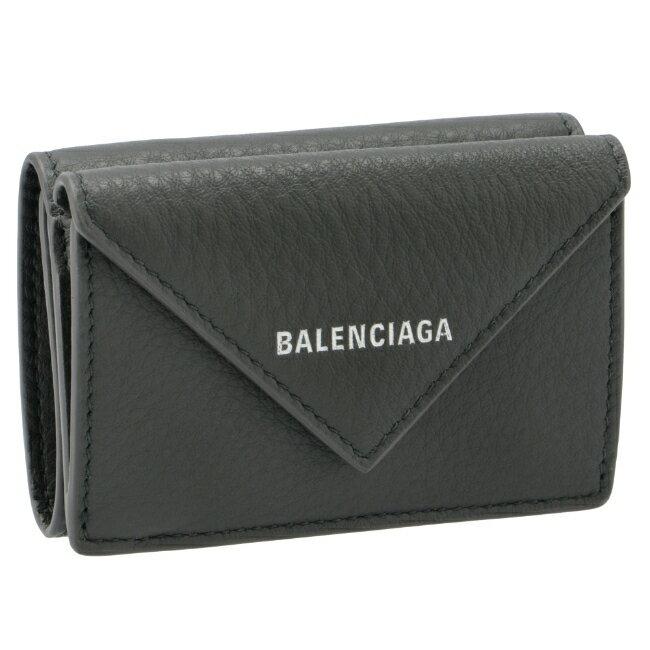 財布・ケース, メンズ財布 BALENCIAGA PAPER GRIS FOSSILE 2021 391446-DLQ0N-1110