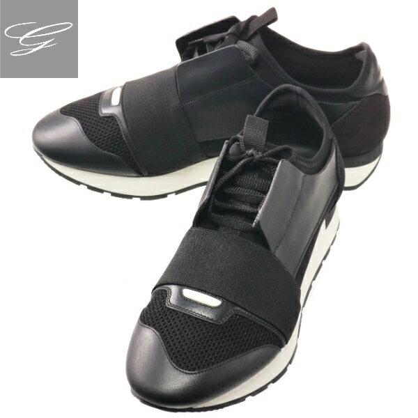 メンズ靴, スニーカー 2019AW SALE BALENCIAGA RUNNER NERO 535391-W0YXS-1000