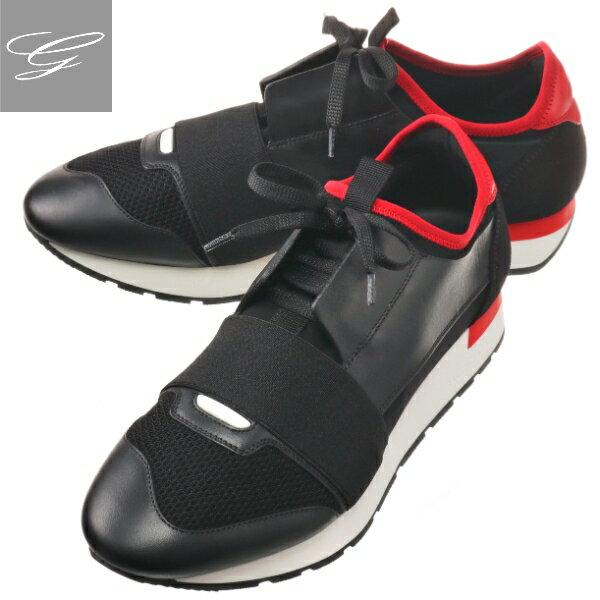 メンズ靴, スニーカー 2019AW SALE BALENCIAGA RUNNER NERO ROUGE 535393-W0YXS-1066