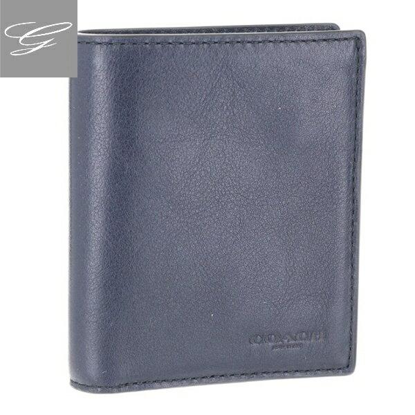 e8095124576a コメントCOACHから、しなやかなスポーツカーフレザーで仕上げたスリムな2つ折り財布。  シンプル且つスマートなフォルムが、リッチな雰囲気を漂わせる紳士的なデザイン ...