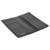 ディオールオム/DIORHOMME財布メンズカーフスキン2つ折り長財布ブラック2DSBH028-TAB-900
