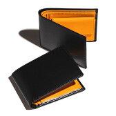 エッティンガー/ETTINGER 財布 メンズ Bridle Hide 2つ折り財布 ブラック 2016年秋冬新作 BH141JR-0001-0001