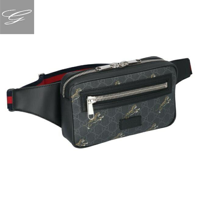 メンズバッグ, ボディバッグ・ウエストポーチ GUCCI Belt Bags NERO 474293-G02BN-8992