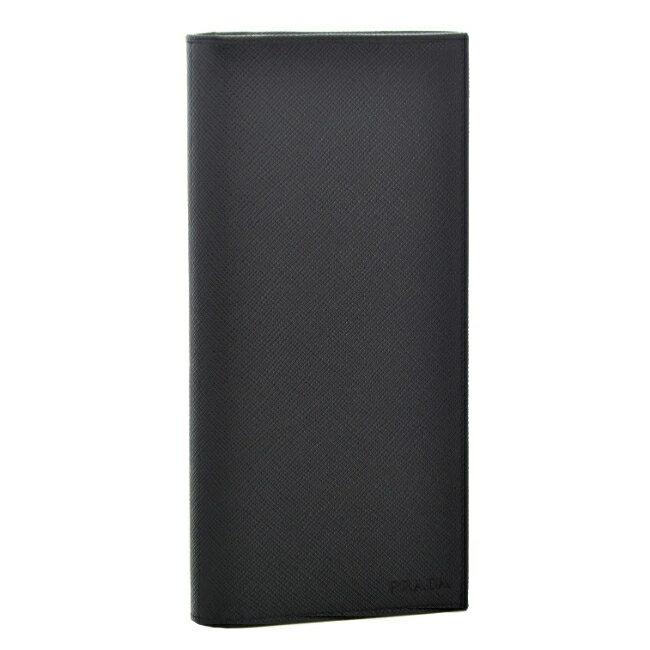 42d97d0e3677 コメント上質な素材と洗練されたシンプルなデザインが魅力的なPRADAの2つ折り長財布。 素材にはPRADAお得意のサフィアーノレザーを採用。
