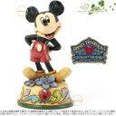 ジムショア ミッキーマウス 2月 誕生日におすすめ ディズニー 4033959 February Mickey Mouse Figurine JimShore □