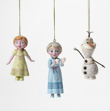 ジムショア アナとエルサとオラフ オーナメント 3点セット クリスマス アナと雪の女王 ディズニー 4046062 Frozen Ornament Set JimShore【ポイント最大44倍!楽天スーパー セール】
