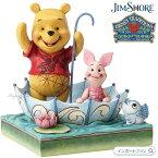 ジムショア プーさんとピグレットの50年の友情 くまのぷーさん ディズニー 4054279 50 Years of Friendship Pooh and Piglet Sharing Disney Traditions JimShore □