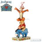 ジムショア イーヨー プー ティガー ピグレット友情によって建てられたディズニーの伝統 くまのプーさん 4055413 Eeyore Pooh Tigger Piglet Disney Traditions Built by Friendship JimShore □