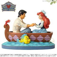 ジムショア リトルマーメイドのアリエルとエリック王子 ディズニー 4055414 Waiting For A Kiss-Ariel and Prince Eric Figurine JimShore