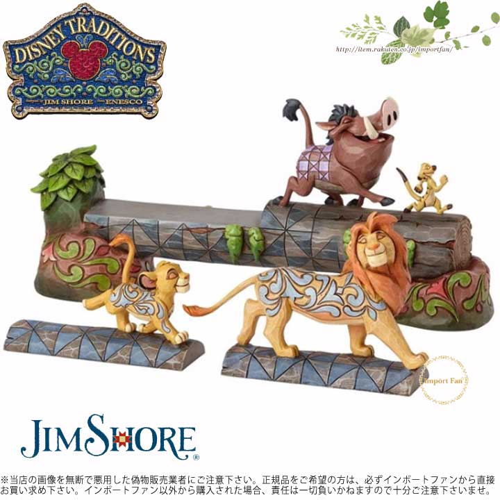 インテリア小物・置物, 置物  4057955 Simba Timon and Pumbaa Disney Traditions Carefree Camaraderie jim shore