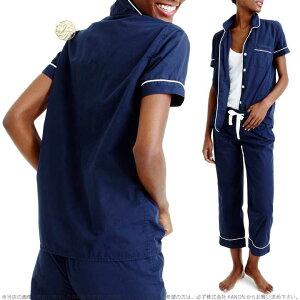 ジェイクルーヴィンテージ半袖シャツルームウェアパジャマ上下セットVintageshort-sleevepajamaset