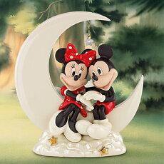 *レノックスLENOXミニー&ミッキーオーバーザムーンミニーDisneyMickeyOvertheMoonforMinnie◆ディズニーミッキーマウスミニーマウス