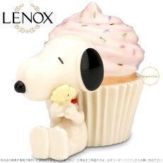 レノックスLENOXスヌーピーSNOOPY'sCelebrationCupcakeセレブレーションカップケーキ◆誕生日のプレゼントや出産祝いにも♪□