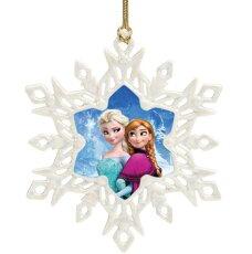 レノックスアナとエルサオーナメントクリスマスアナと雪の女王ディズニー852197Disney'sFrozenOrnamentLENOX□