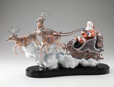 リヤドロ 良い子のもとへ 01001938 LLADRO クリスマス サンタクロース □