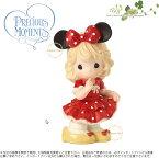 プレシャスモーメンツ 太陽の光で私の世界を満たしてください ミニーマウス ディズニー 162025 Disney Minnie Mouse You Fill My World With Sunshine Bisque Porcelain Figurine Precious Moments□