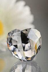 スワロフスキーSwarovskiLoveHeart,CrystalSilverShade,M1096729