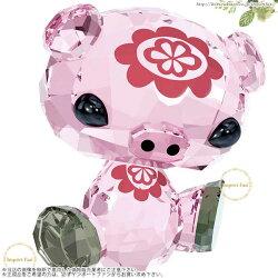 スワロフスキーラブロッツ十二支イノシシ猪豚5004488SwarovskiZodiacBuButhePig亥年生まれのラッキーアイテム□