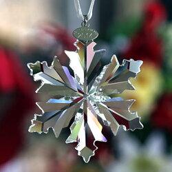 スワロフスキースノーフレーククリスマスオーナメント2014年度限定品クリスタル雪の結晶5063337SwarovskiCrystalAnnualEditionSnowflakeOrnament□