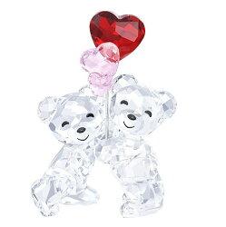 スワロフスキークリスベアハートバルーン5185778SwarovskiKrisBear-HeartBalloons□