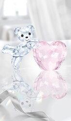 スワロフスキークリスベアピンクハート5265323SwarovskiKrisBear-PinkHeart□