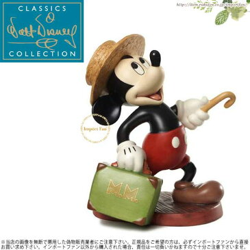 WDCC ミッキーのドキドキ汽車旅行 Mr Mouse Takes a Trip Mickey Mouse Travelers Tail 1226332 【ポイント最大43倍!大感謝祭セール】