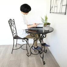 イス/テーブルセットクーポンありガーデンテーブルチェアーコーヒーテーブルアイアンテーブルアンティーク調アイアンおしゃれモダンカフェ風ガーデンファニチャーダイニング