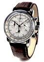 【送料無料】ZEPPELIN(ツェッペリン) 腕時計 ツェッペリン100周年記念モデル アイボリー×ブラウン 7680-1 メンズ [並行輸入品]