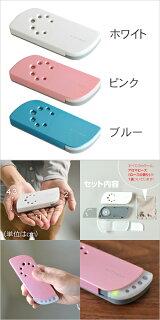 【携帯空気清浄機/アロマディフューザー】携帯型エアーウォッシャーairleaf(エアリーフ)クリアフォレスト電池式