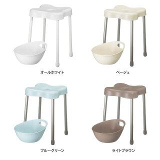 【バスチェア/手桶】I'mDアイムディーRevolcレボルクシャワーチェアーLレットー湯手おけセットバススツール風呂用品バスグッズ日本製