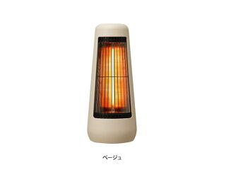 【ヒーター】±0(プラスマイナスゼロ)カーボンヒーターXHS-Y210電気ストーブ速暖暖房器具遠赤外線首振りコンパクト省エネ