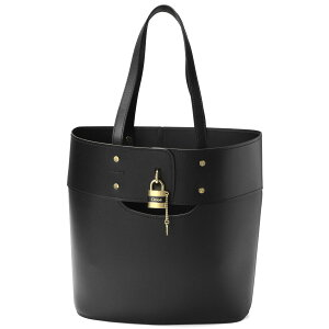 Chloe CHLOE Bag Ladies C20SS223 C44 001 Tote Bag Medium ABY Abbey BLACK Black