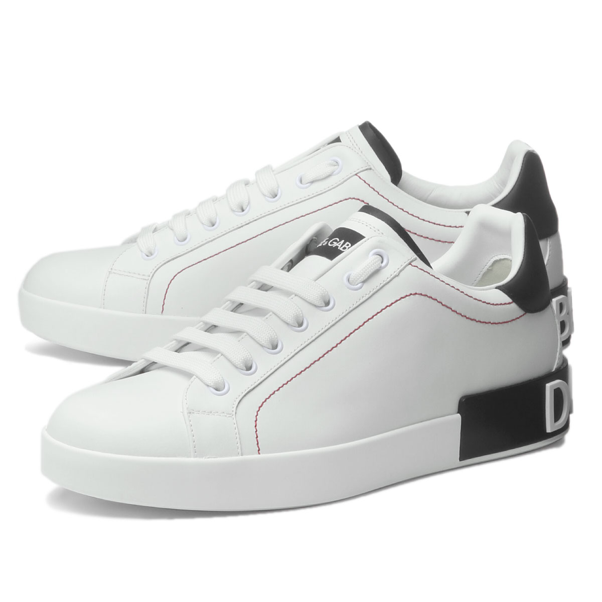 メンズ靴, スニーカー  DOLCEGABBANA CS1760 AH526 89697 PORTOFINO BIANCONERO