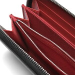 フェンディFENDI財布メンズ7M0210A3DOF1387ラウンドファスナー長財布BAGBUGSバッグバグズNERO+ROSSO+BCO+Pブラック