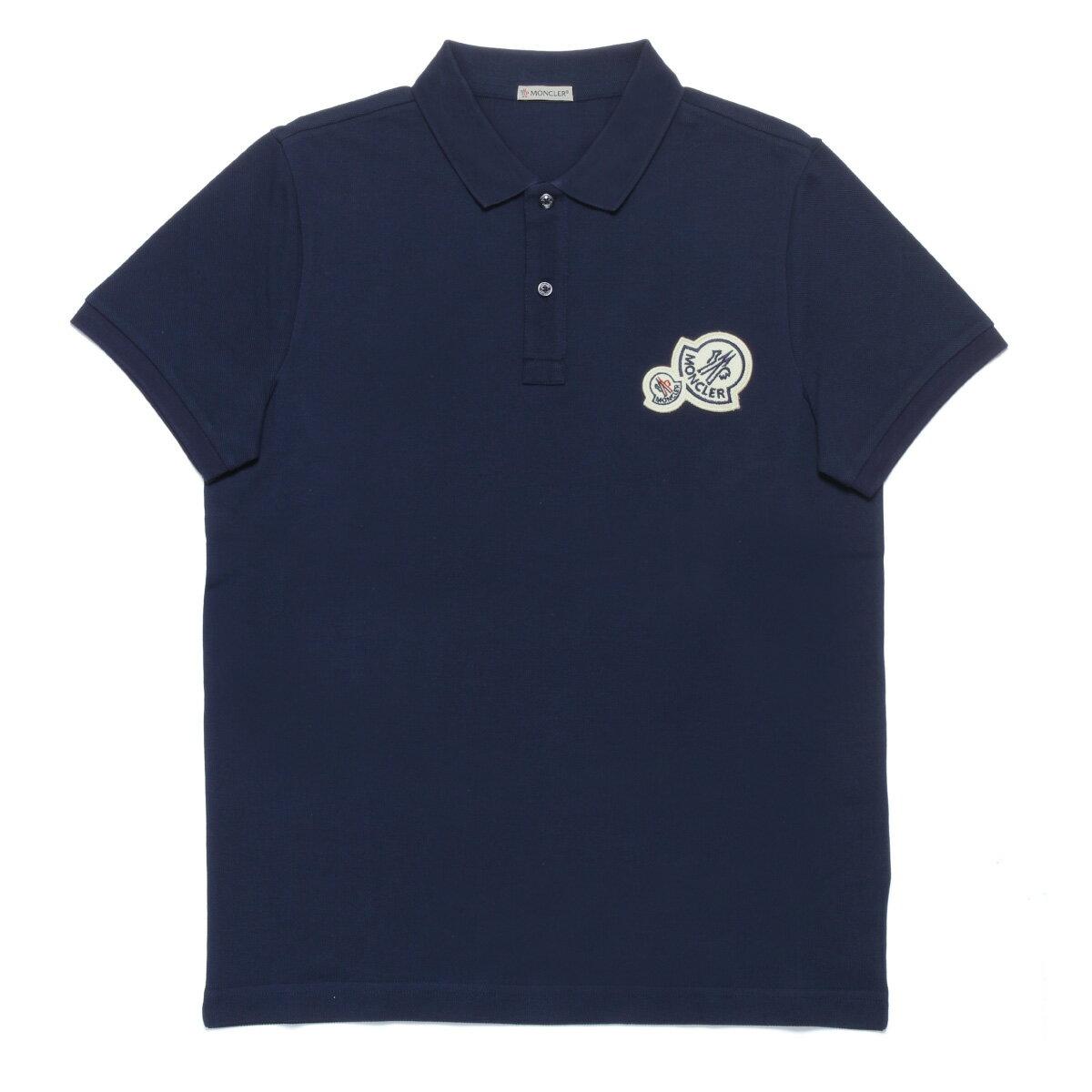 モンクレール MONCLER ポロシャツ メンズ 8304200 84556 783 半袖ポロシャツ NAVY ダークブルー