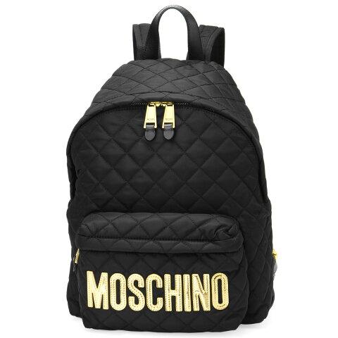 モスキーノ MOSCHINO バッグ レディース 7607 8201 2555 バックパック BLACK ブラック