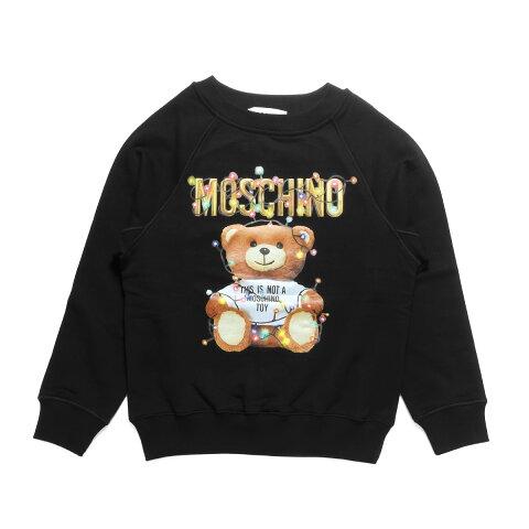 モスキーノ MOSCHINO スウェット レディース 1798 4027 1555 長袖スウェット BLACK ブラック