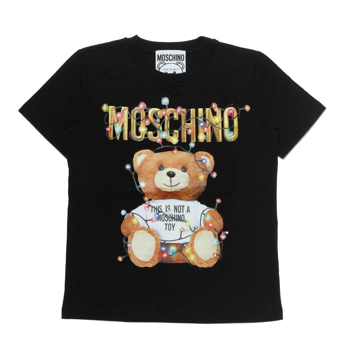 トップス, Tシャツ・カットソー  MOSCHINO T 0798 4040 1555 T BLACK