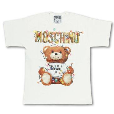 モスキーノ MOSCHINO Tシャツ レディース 0799 4040 1002 半袖Tシャツ WHITE ホワイト