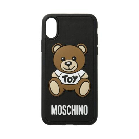 モスキーノ MOSCHINO iPhoneXケース レディース 7923 8306 1555 BLACK ブラック