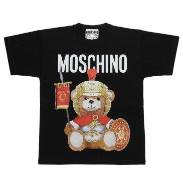 モスキーノ MOSCHINO Tシャツ レディース 0703 5540 1555 半袖Tシャツ BLACK ブラック