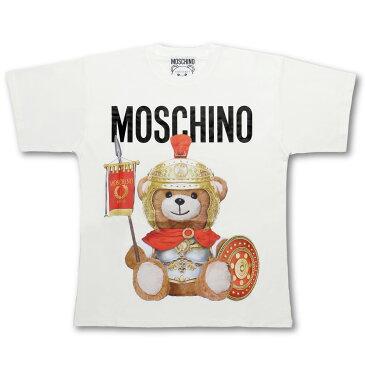 モスキーノ MOSCHINO Tシャツ レディース 0703 5540 1002 半袖Tシャツ WHITE ホワイト