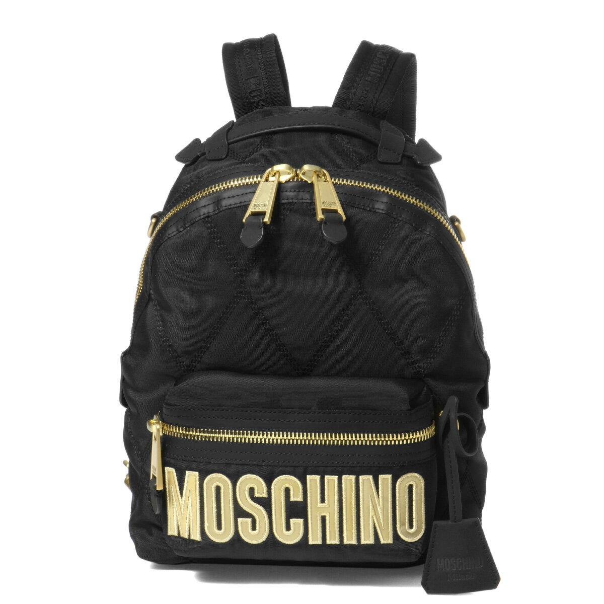 レディースバッグ, バックパック・リュック  MOSCHINO 7604 8205 1555 BLACK