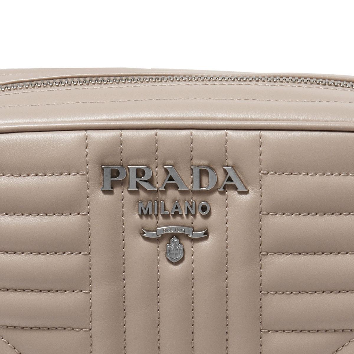プラダ PRADA バッグ レディース 1BH083 2D91 F0PLD ショルダーバッグ CIPRIA 2 ベージュ
